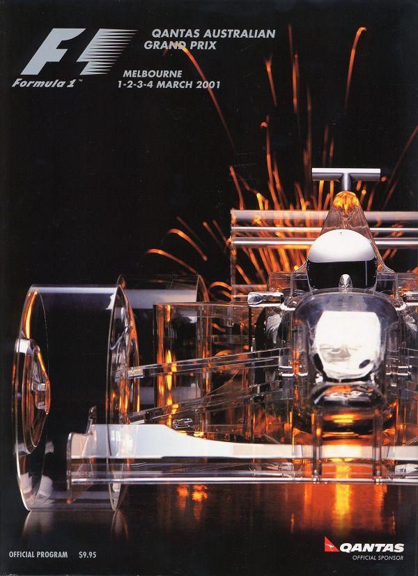 664GP - 2001 QANTAS AUSTRALIAN GRAND PRIX