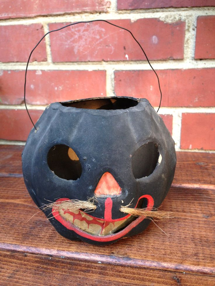 667 best vintage jack o lanterns and candy containers for Decor 718 container