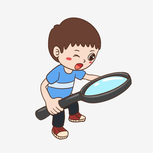 Little Man With A Magnifying Glass Magnifying Glass Villain Free Png Transparent Clipart Image And Psd File For Free Download In 2020 Magnifying Glass Cartoon Illustration Little Man