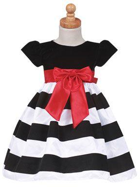 Velvet tafetán vestido de rayas