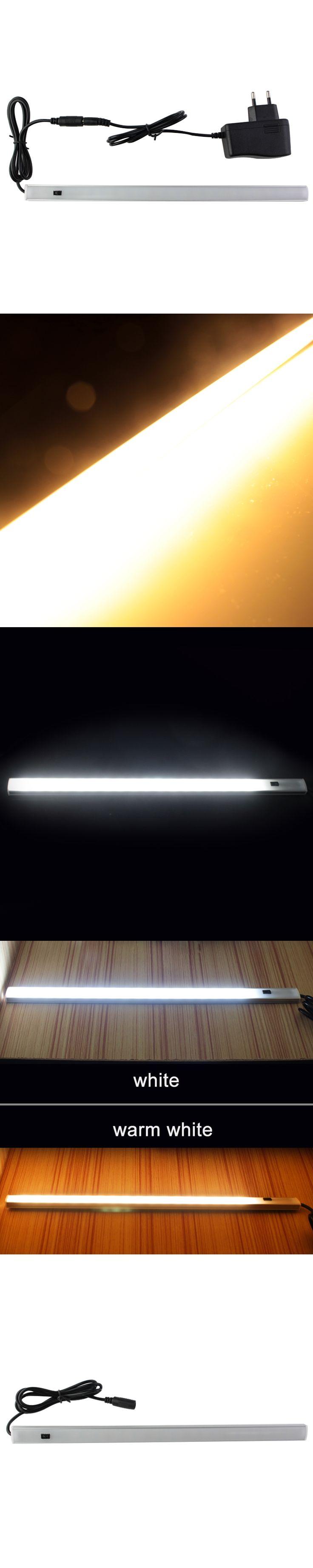 led closet light with PIR Motion Sensor  kitchen led under Cabinet light Night Light lamp DC 12V white/warm white with adapter