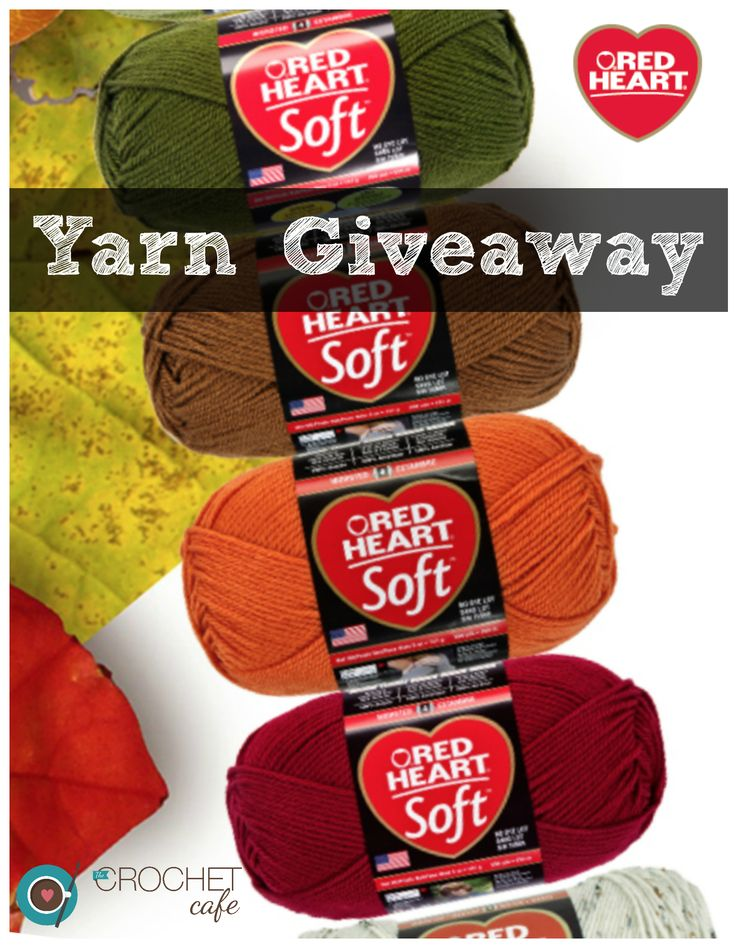 Yarn giveaway from The Crochet Cafe