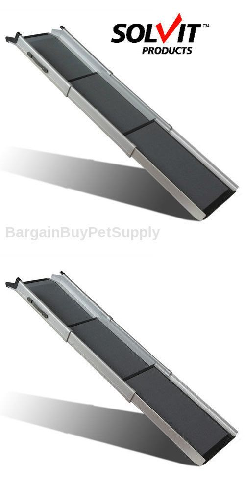 Ramps and Stairs 116389: Solvit Deluxe Tri-Scope Telescoping Pet Dog Car Truck Suv Bed Couch Ramp -> BUY IT NOW ONLY: $149.99 on eBay!