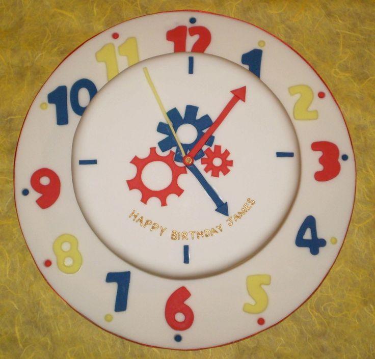 pottery barn pocket watch clock instructions