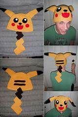 Free Crochet Pikachu Hat Pattern - Yahoo Image Search Results