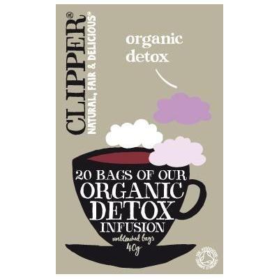 【Clipper】 Organic Detox クリッパー オーガニック デトックスティー : 20ティーバッグ