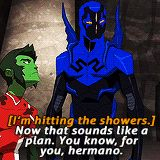 young justice jaime reyes funny | Jaime Reyes in every episode ? 2.01 Happy New Year