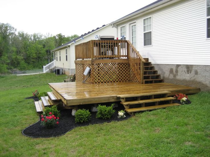 60 best decks and fences images on pinterest for Movable floating deck