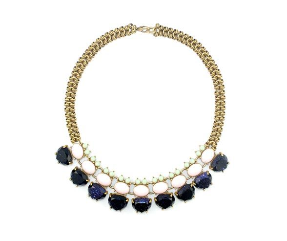 Wedding Jewelry, Bridal Accessories, Statement Necklace, Wedding Trends, Fashion || Colin Cowie Weddings