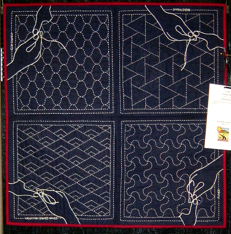 Sashiko Quilting Patterns : 17 Best images about Japanese sashiko quilting on Pinterest Japanese fabric, Patchwork bags ...