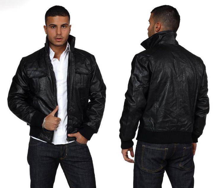 Кожаные куртки для мужчин: модели вне времени