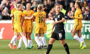 Caitlin Foord puts two past New Zealand as Matildas win pre-Olympic friendly