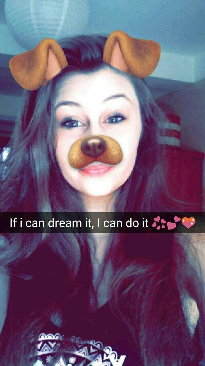 "If i can dream it, I can do it 💝💞💘💗 ""si je peux rever, je peu le faire"""