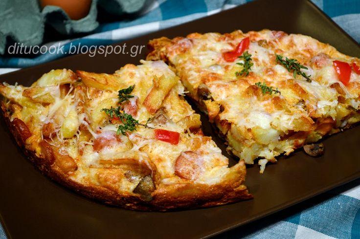 Γευστικές απολαύσεις από σπίτι: Ομελέτα φούρνου