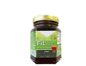 QNI Schinoussa Fit Organic Yacon Syrup: Yacon has a high water and a high fibre content, so it is filling without having a lot of calories. It is also high in antioxidants. Yacon contains a significant amount of inuilin, a type of sugar that your body can't digest. This helps keep the overall caloric content of the Yacon low while having a delicious sweet taste.