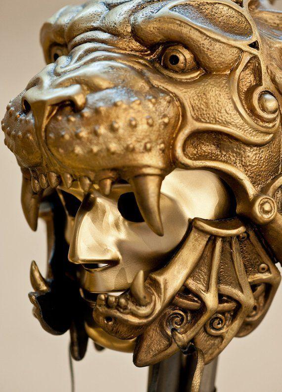 Mask Helmet Gladiator Helmet Predator Helmet Lion