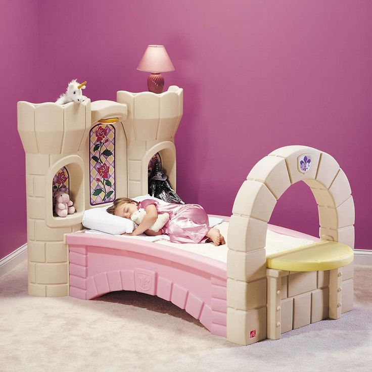 castle beds for girls   ... and Ratings - Kids Bed - Dream Castle Convertible Bed from Step2
