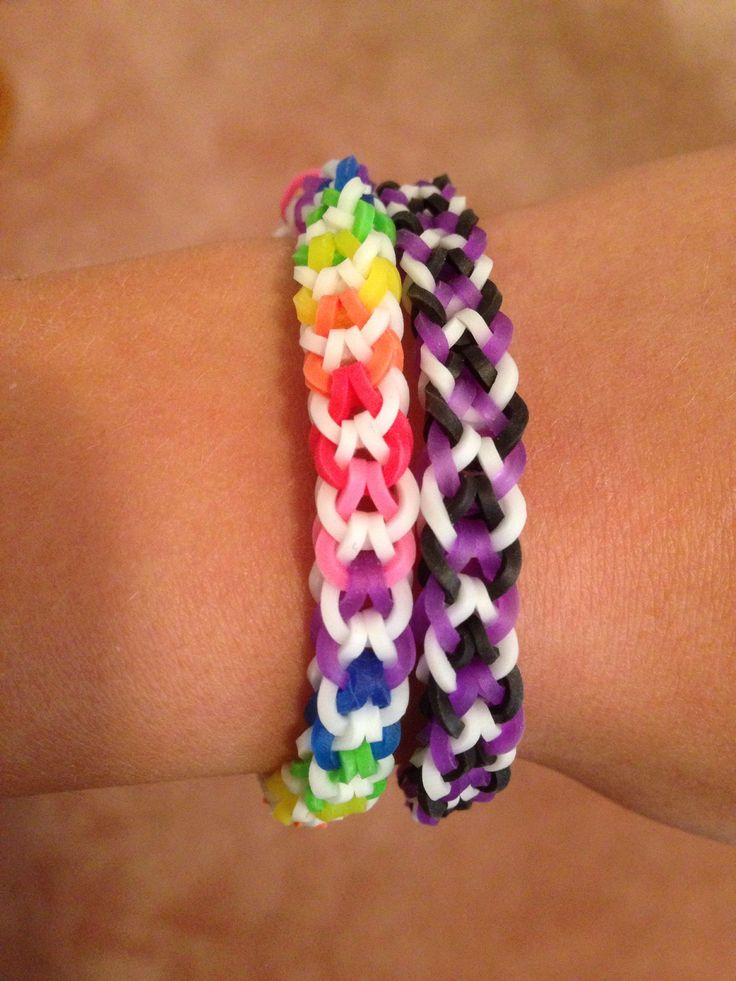 How to Make an Inverted Fishtail Rainbow Loom