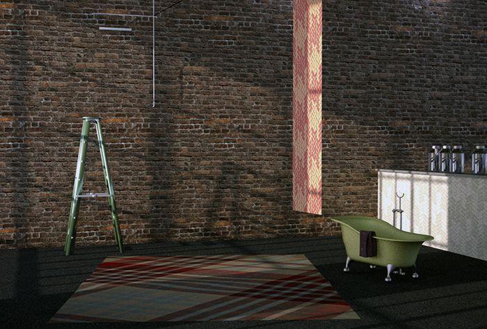Living Roof - così s'intitola il progetto dello showroom dedicato alla collezione casa di Vivienne Westwood