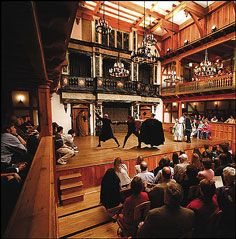The Blackfriars' Playhouse at The American Shakespeare Center, Staunton, Virginia -- A historically-correct  re-creation of Shakespeare's indoor theater. You'll see plays in much the same way as audiences did  in Shakespeare's time.