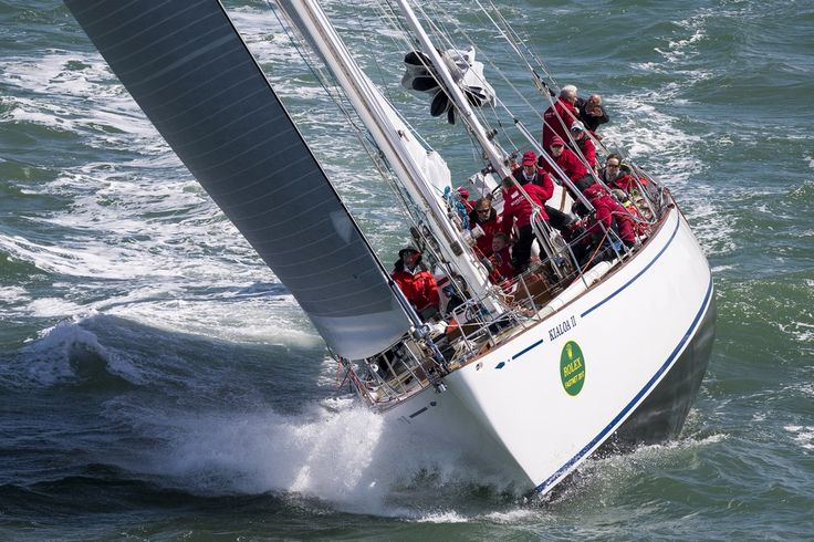 Race Start - Kialoa II, Sail No: AUS 7742, Class: IRC One, Owner: Patrick Broughton, Type: S & S 73 Classic #1713