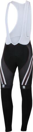 Bodyfit Pro Thermal Fietsbroek Heren Zwart/Wit