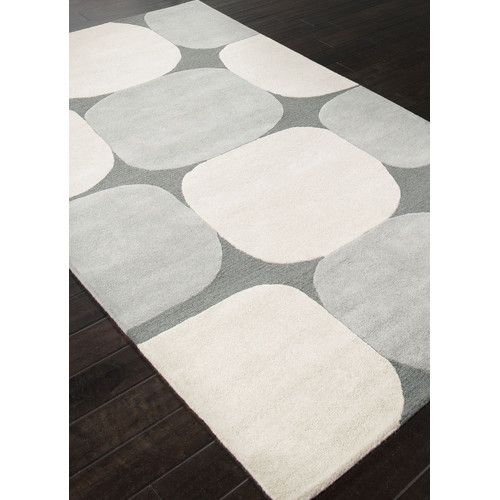 Found it at AllModern - Lounge Gray & Ivory Area Rug
