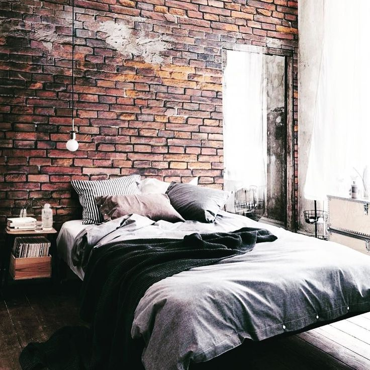 Exposed brick loft   Yes or No?