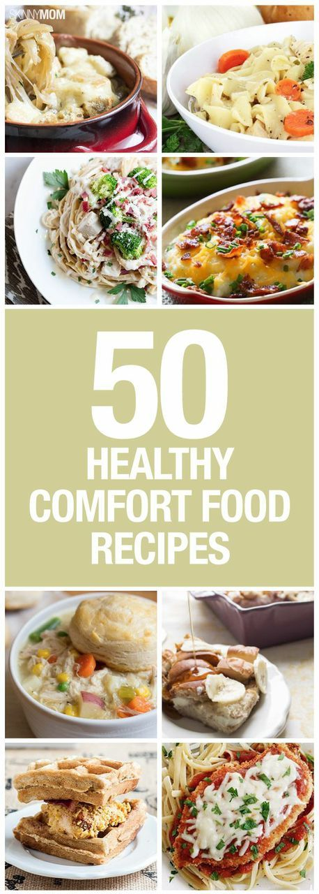 Try some of these healthier comfort food recipes!