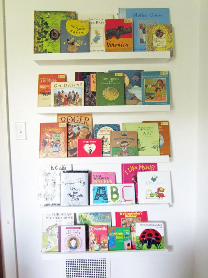 20 best images about bookshelves for kids room on for Wall shelves kids room