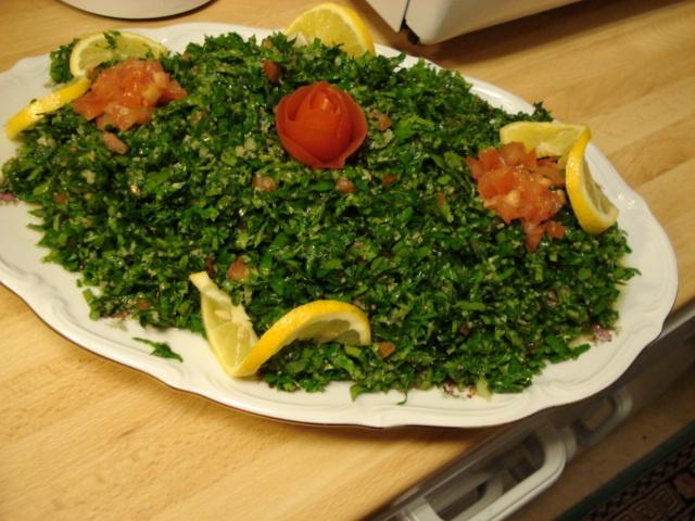 Tabola for Arabic cuisine food