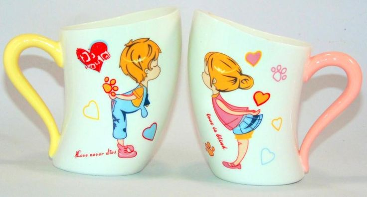 Love never dies valentine day special mugs