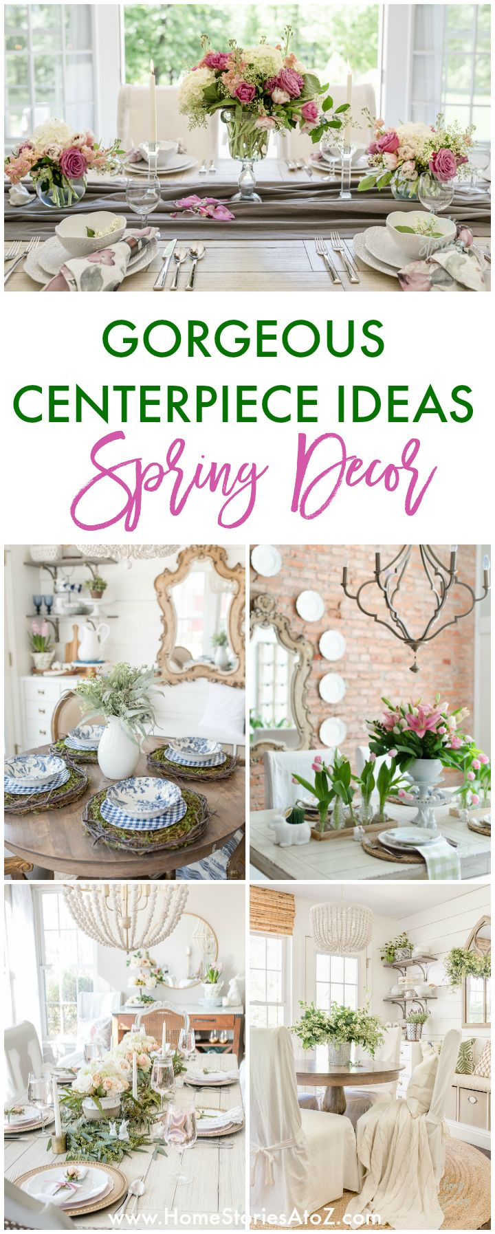 Spring Decor Ideas Gorgeous Centerpiece Ideas For Your Table In