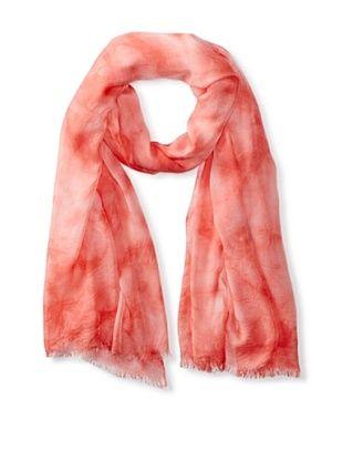 77% OFF Tahari Women's Tie Dye Scarf, Pink