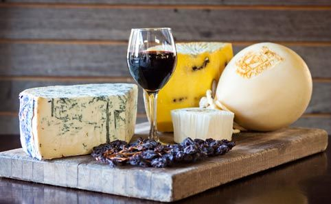 Best places for wine and cheese
