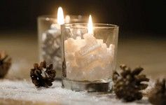 X-Mas Deoration Star & 5 Votives - Sale | Rivièra Maison