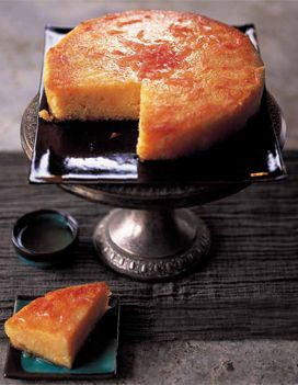 Gâteau humide au pamplemousse