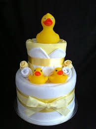 Image result for 2 tier nappy cake