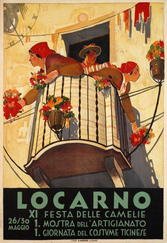 Locarno. XI Festa dele Camelie 26/30 Maggio