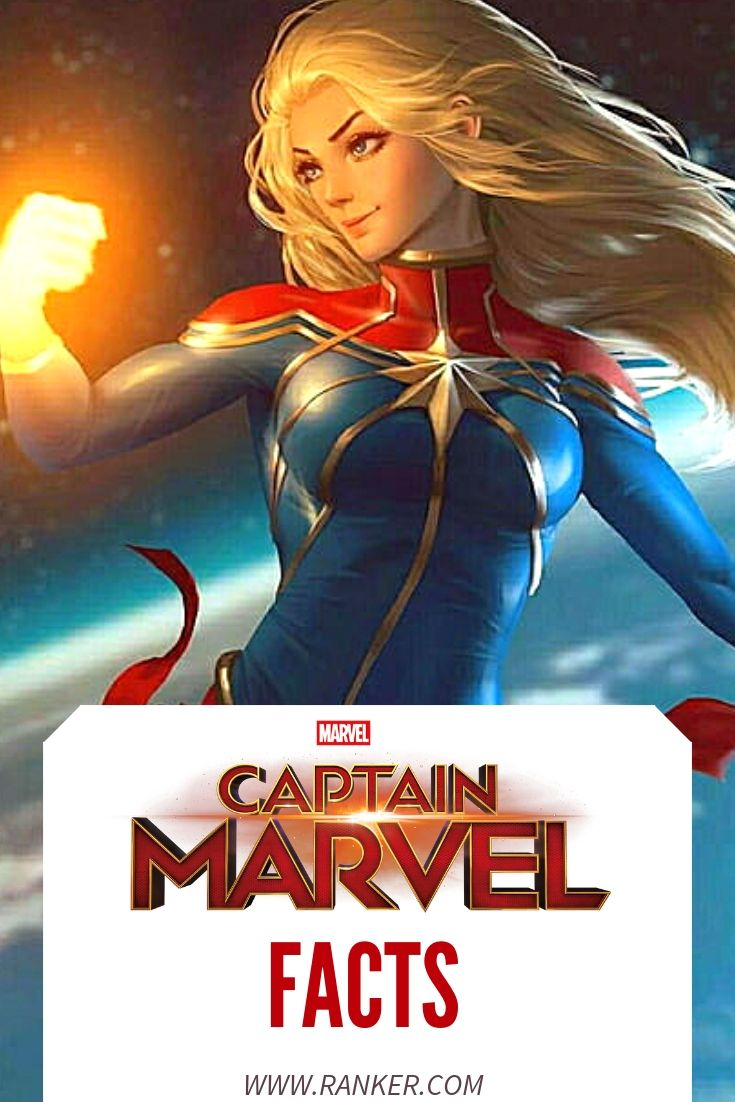 13 things you didn't know about captain marvel and the