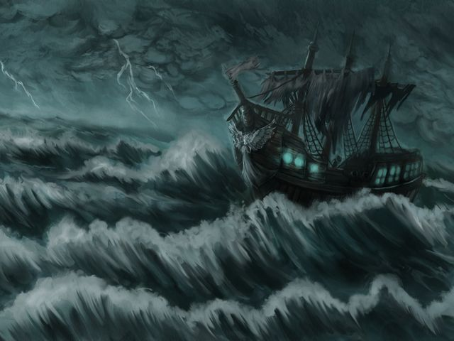 What Is Your Creepy Personal History? I got: Davy Jones' Locker!  ~ In real-world history, Davy Jones' Locker is an idiom for the bottom of the sea: the state of death among drowned sailors, while in At World's End, it was portrayed as a sort of purgatory.