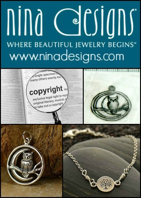 Copycats driving you crazy? Learn what you can & can't do to protect your designs. Read more at https://www.ninadesigns.com/blog/2014/01/30/launch-your-jewelry-business-copy-cats-step-8-of-10/