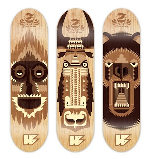 Skateboard Design Ideas digital oatmeal deck designs deck 19 calecathey Find This Pin And More On Art Lesson Ideas Skateboards