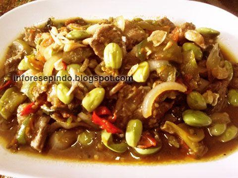 Daging Sapi Lada Hitam (Stir Fry Beef Black Pepper)