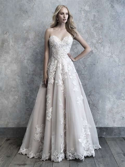 e508d19f12ef Madison James MJ516-Spring 2019 | Allure Bridals in 2019 | Wedding dresses, Bridal  gowns, Wedding