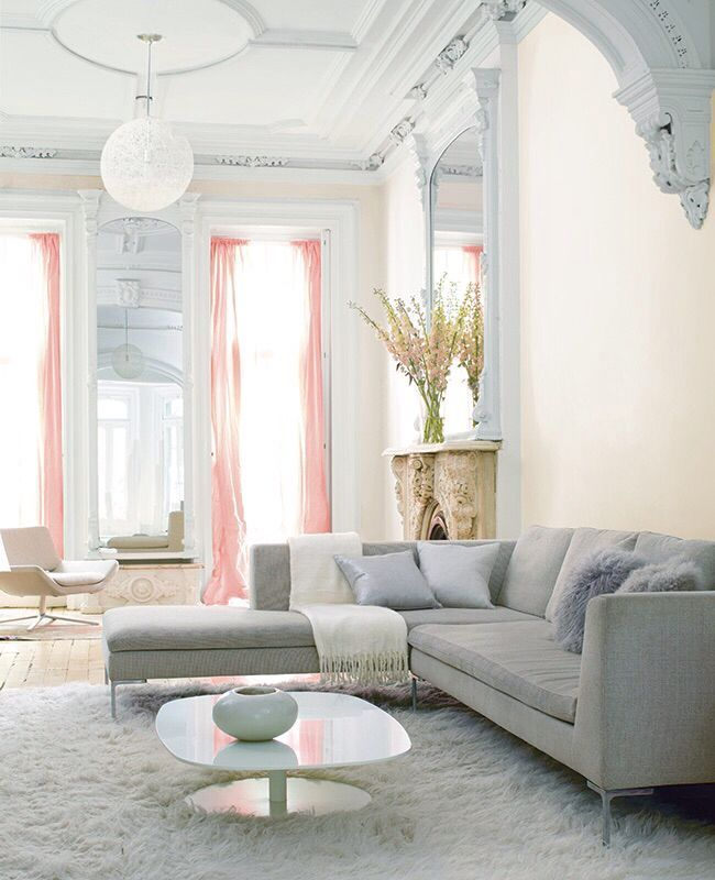 49 best Pink and Grey Interiors images on Pinterest Architecture