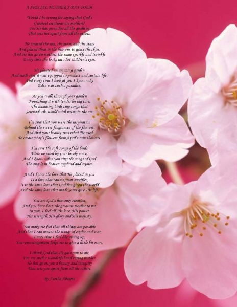 A Poem For A Mom On Mothers Day Mothers Day Poems Greeting Card Poems