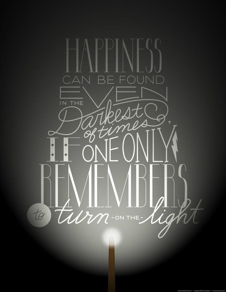 Free Harry Potter Printable from Hello Creative Family. Happiness Can Be Found Even In The Darkest of Times If One Only Remembers To Turn On The Light: