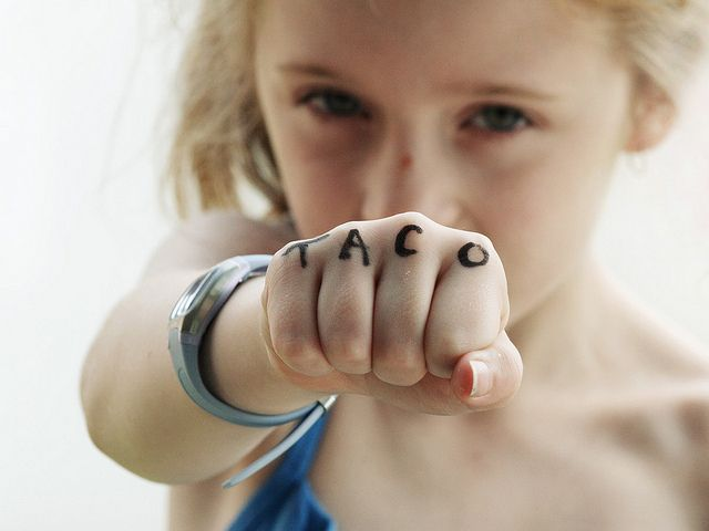 TACO Knuckle Tattoo!!! Children are the best, one of my favourite photos