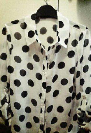 Camisa-Blusa Blanca   Primark , Otoño-Invierno 2014. En el armario de clubdemoda desde el 5-10-2013